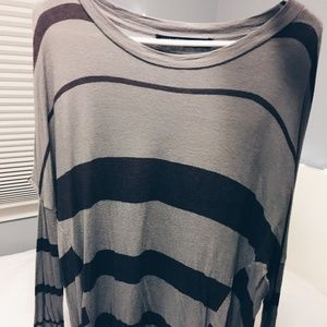 All Saints Striped Top